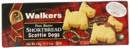 Walkers Shortbread Shortbread Scottie Dogs, 3.9-Ounce (Pack of 6)