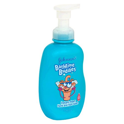 Johnson's Buddies Clean-You-Can-See Foam Hand Wash, No More Tears, Packaging May Vary,  7.9 fl. oz. (233ml)