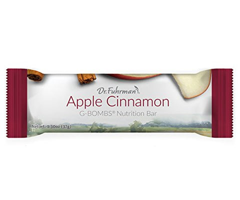 Dr. Fuhrman's Apple Cinnamon G-Bombs Nutrition Bars