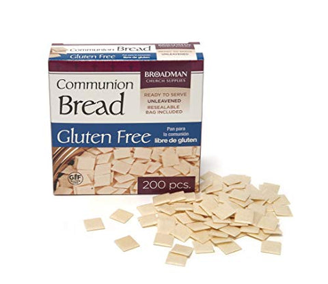 Communion Bread   Gluten Free   Pkg/200