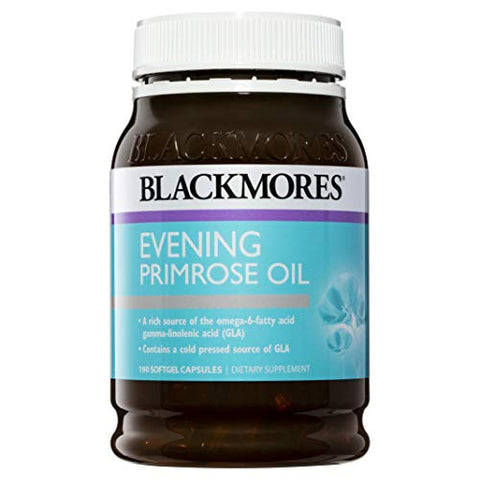 Blackmores Evening Primrose Oil 1000Mg Capx190 by Blackmores LTD
