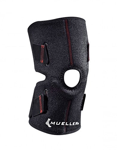 Mueller Sports Medicine 4-Way Adjustable Knee Support, OSFM, 0.44 Pound