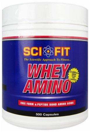 Sci-Fit Whey Amino 250 Caps