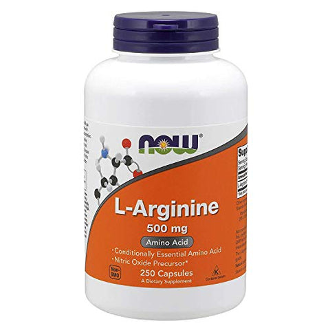 Now Foods L-Arginine 500mg - 250 ct (Pack of 3)