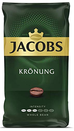Jacobs Kronung Whole Bean Coffee 500 Gram / 17.6 Ounce (Pack of 1)