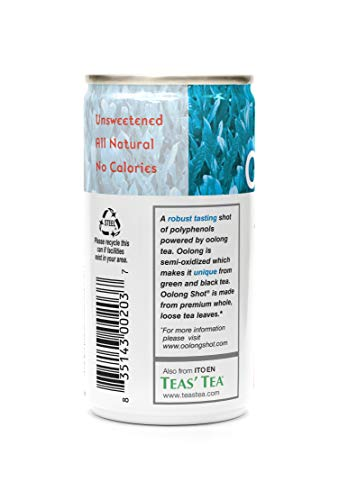 Ito En Oolong Shot, 6.4 Ounces (Pack Of 30)