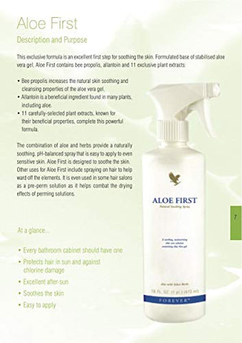 Aloe First Natural Soothing Spray, 16 FL. OZ