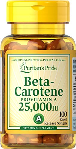 Beta Carotene For Immune And Eye Health By Puritan's Pride To Support A Healthy Immune System 100 So