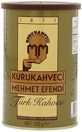 Mehmet Efendi Turkish Coffee, 250 Gram Can