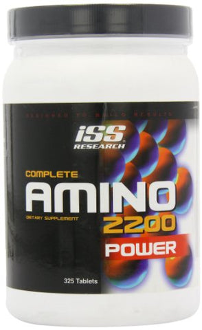 ISS Complete Amino 2200 Power Tablets, 325-Count Bottle