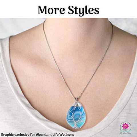 EMF Protection Pendant Necklace - Anti-Radiation - Programmed with 30+ Homeopathic Frequencies - Multiple Styles - EMF Shield Necklace Jewelry by Dr. Valerie Nelson