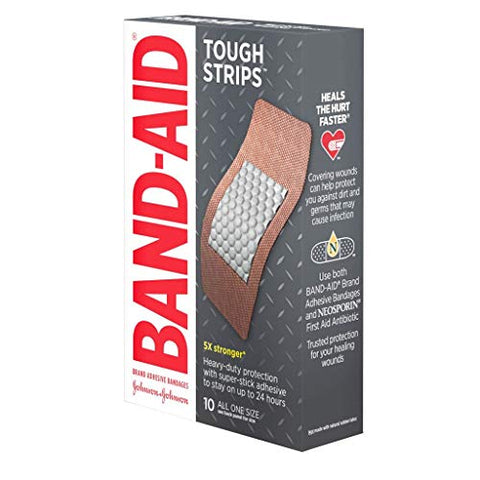 Special pack of 5 BAND-AID TOUGH STRIPS ALL ONE SIZE 20 per pack