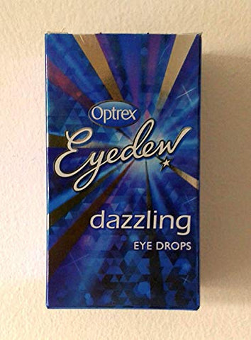 Optrex Eyedew Dazzling Eye Drops 10Ml X 3 Packs