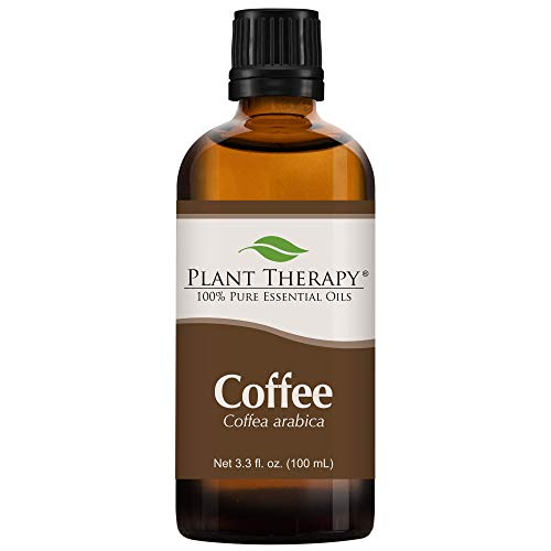 Plant Therapy Coffee Essential Oil 100% Pure, Undiluted, Natural Aromatherapy, Therapeutic Grade 100 mL (3.3 oz)