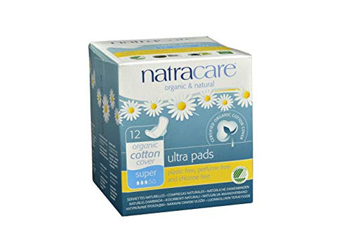 Natracare Pads Ultra Sup Wings