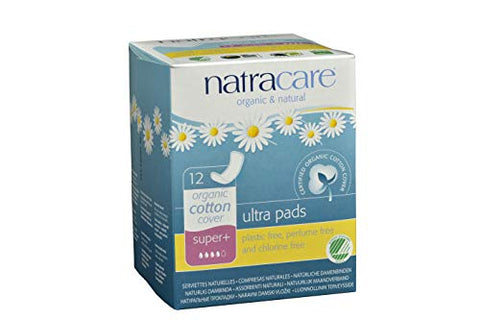 Natracare 3117 Ultra Super Pads 12 Count