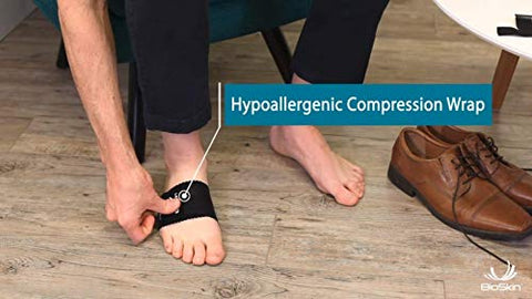Hammer Toe Straightener for Metatarsalgia, Claw Toe, or Mallet Toe - Osteotomy Strap and Foot Compression Wrap - by BioSkin