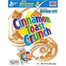 Cinnamon Toast Crunch Cereal - 12.2 oz by Cinnamon Toast Crunch