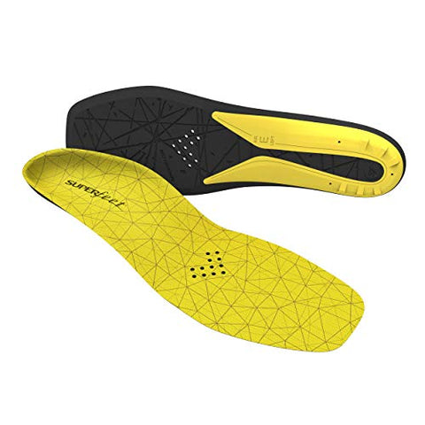 Superfeet Hockey Comfort Insoles for Orthotic Support and Cushion in Casual Hockey Skates, Large/E: 10.5-12 US Womens / 9.5-11 US Mens