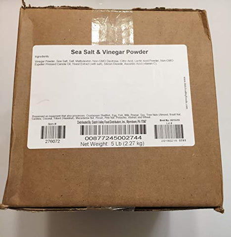 Sea Salt and Vinegar Seasoning Powder (5 lb. box)