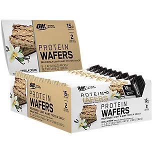 Protein Wafers Vanilla Creme (9 Packs)