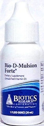 Bio D Mulsion Forte by Biotics Research