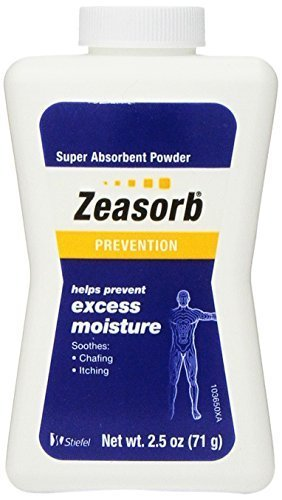 Zeasorb Prevention Super Absorbent Powder, Foot Care, 2.5-Ounce Bottles (Pack of 2) by Zeasorb