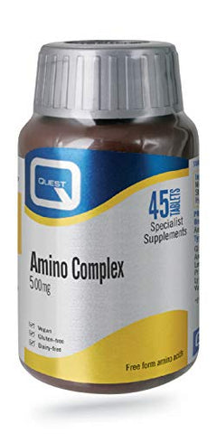 Quest Amino Complex 500Mg - 45 Tablets