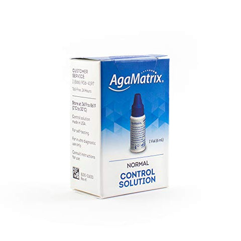 AgaMatrix Wavesense Normal Control Solution, 1 Vial (6 Ml)