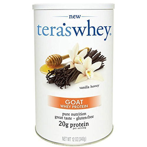 Tera's Whey Vanilla Honey Goat Whey Protein (12 oz) by Tera's Whey