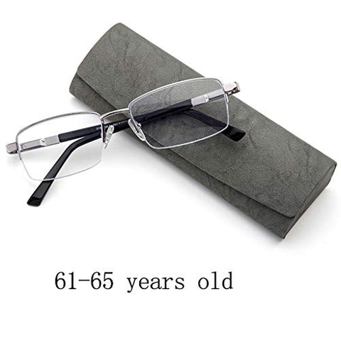 HD Reading Glasses Best Set,Half Rim Metal Glasses Anti-Blue Light for Reading Quality Hinge Readers Men,Strong Light Transmission