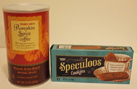 Trader Joe's Pumpkin Spice Coffee & Speculoos Cookie Gift Pack