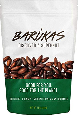 Barã¹kas: The Healthiest Nuts In The World (Regular, 12 Oz)