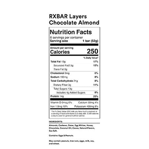 RXBAR Layers Variety Pack, 1.94 Oz