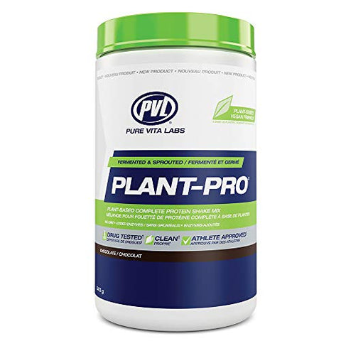 Pvl Plant Pro â?? High Protein Plant Based Fermented And Sprouted Vegan Protein Shake Mix With Added