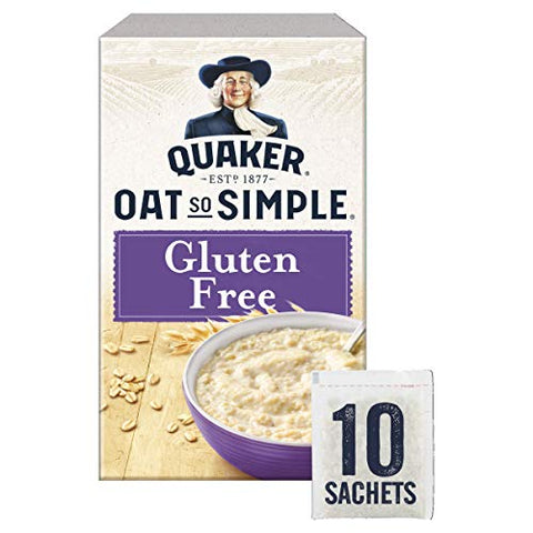 Quaker Oats So Simple Gluten Free Sachets, 350 g