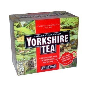 Yorkshire Tea Original Red 80bags