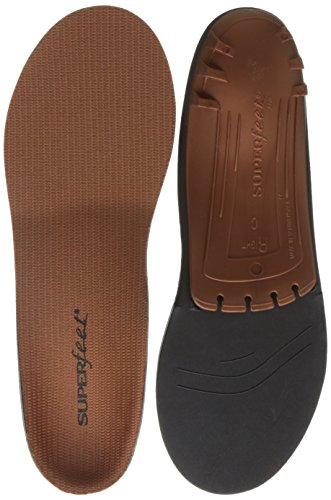 Superfeet Copper, Memory Foam Comfort Orthotic Insoles, Unisex, Copper, X Small/4.5 6 Wmns/2.5 4 Jun