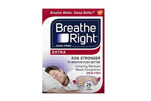 Breathe Right Nasal Strips, Extra, 26-Count Box (3 Pack)