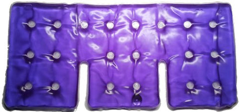 The Ultimate Reusable Heat Pad for Shoulder and Back, Hot/Cold Pack. Instant Heat Relief! (Purple)
