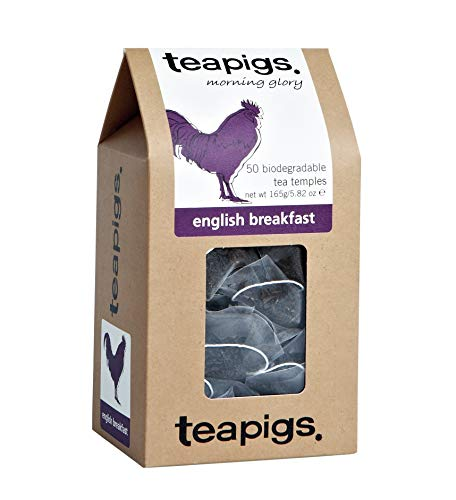 Teapigs Everyday Brew 165 g (Pack of 1, Total 50 Tea Bags)