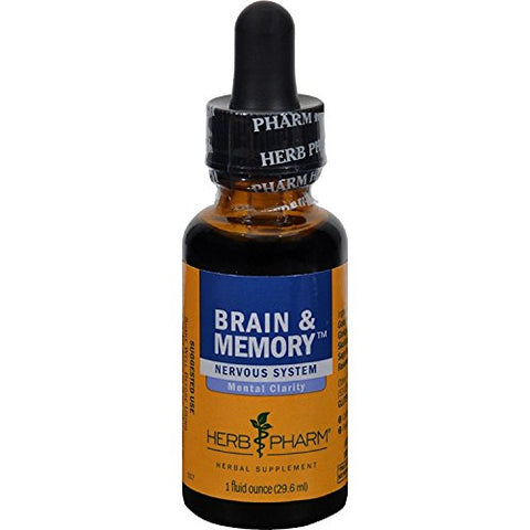 Herb Pharm Brain & Memory Tonic 1 Fz