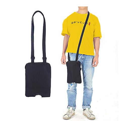 Catheter Leg Bag Stabilization Device Urinary Drainage Foley Catheter Bag Holder (1000 Ml) With Adjustable Shoulder Strap For Home,Travel,Wheelchair,Bed