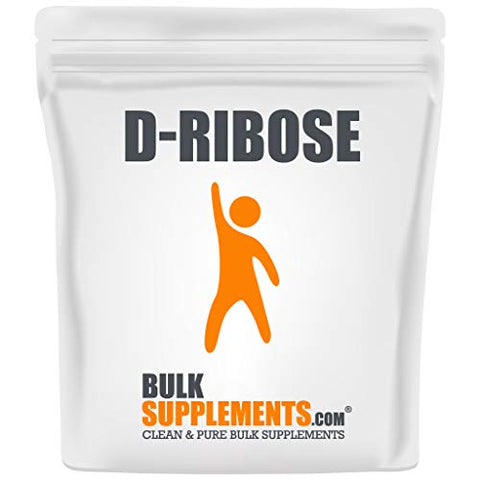 BulkSupplements.com D-Ribose - Energy Supplements - Electrolyte Powder - Peak ATP - Best Energy Supplements - Chronic Fatigue Supplements (100 Grams - 3.5 oz - 20 Servings)