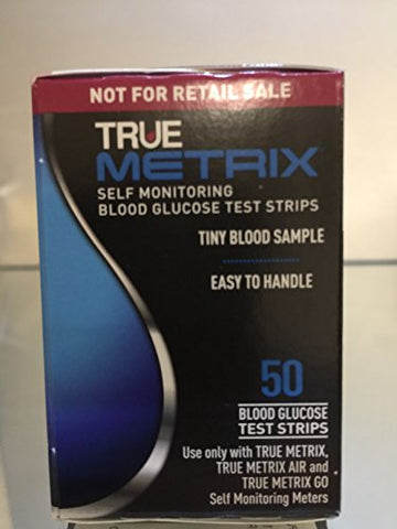 True Metrix Blood Glucose Test Strips 250 Ct ( 5 Boxes )