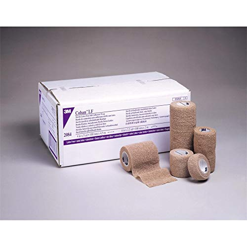 "3M-2084S Coban Wrap Sterile L/F 4""x5yd 18 Per Case by 3M Part No. 2084S"