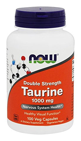 Now Foods: Taurine 1000 Milligram 100 Capsules