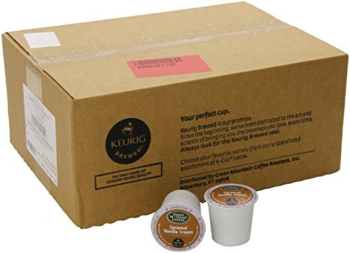 Keurig, Green Mountain Coffee, Caramel Vanilla Cream, K-Cup Counts, 50 Count