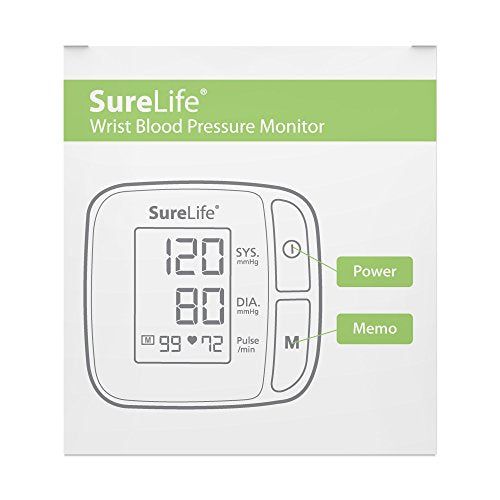 SureLife Classic Wrist Blood Pressure Monitor - (1 per Box)