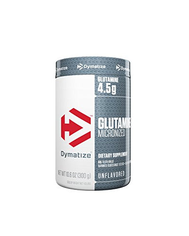 Dymatize 100% Pure Glutamine, Unflavored, 10.6 Oz